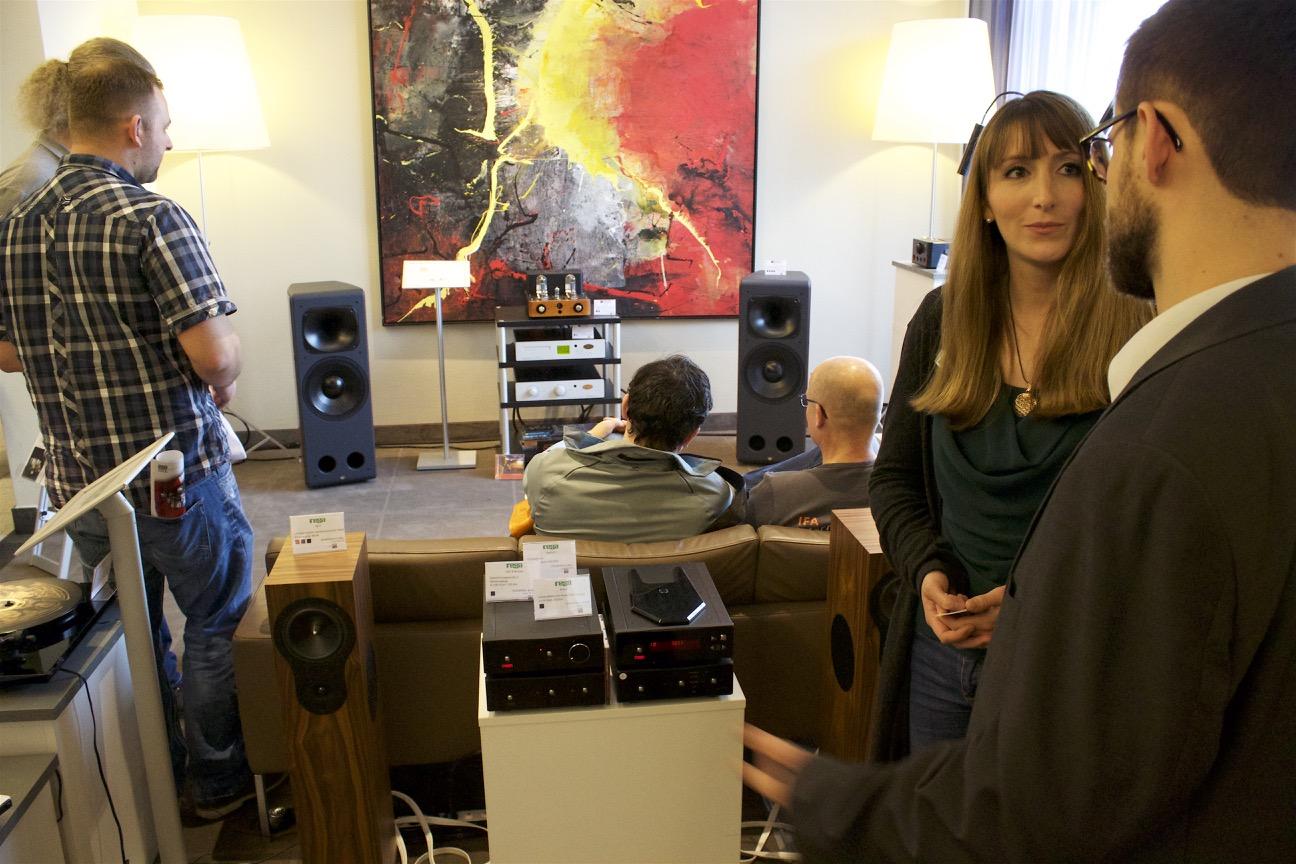 Paula Knorn von TAD-Audiovertrieb zeigt uns die Neuheiten aus dem Vertriebsportfolio.