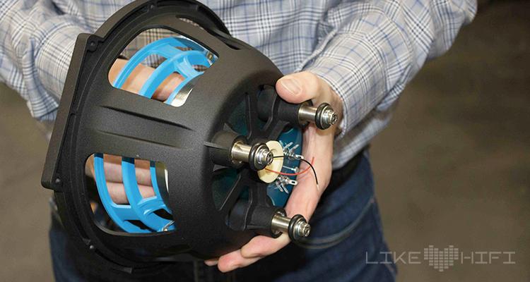 Bis zu 8 Millimeter vor und zurück kann das Chassis im Korb verschoben werden