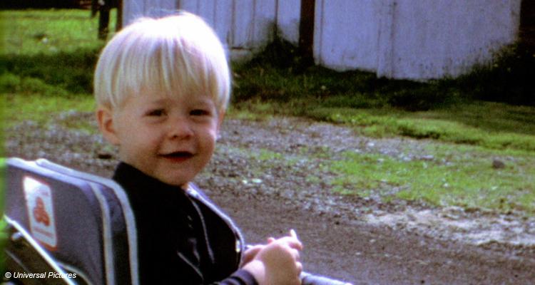 Cobain als Kind