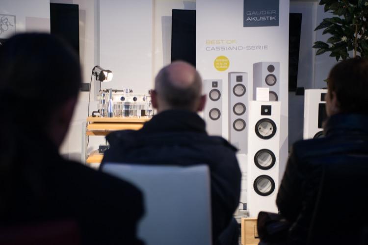 Gauder Akustik spielte in Kombination mit AVM und Transrotor groß auf