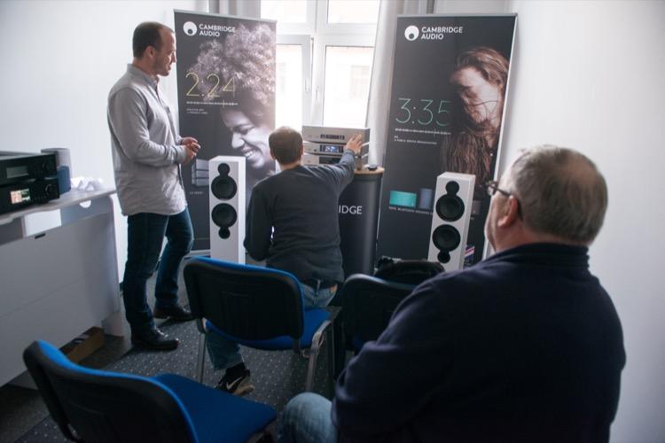 HiFi zum anfassen bei den Briten von Cambridge Audio