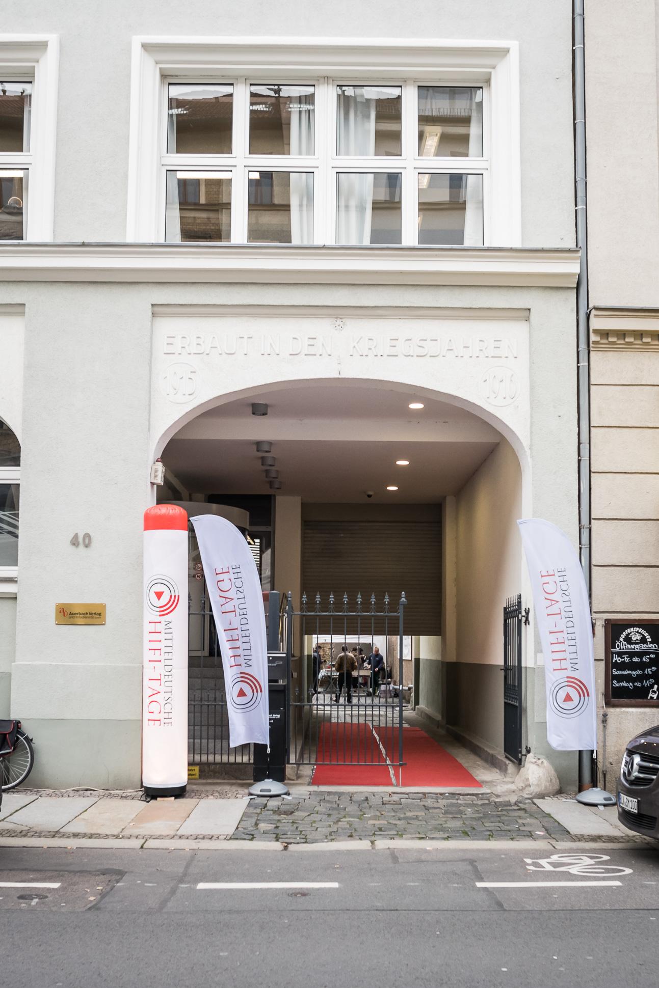 Auch dieses Jahr nicht zu verfehlen, die Alte Handelsdruckerei in Leipzig.