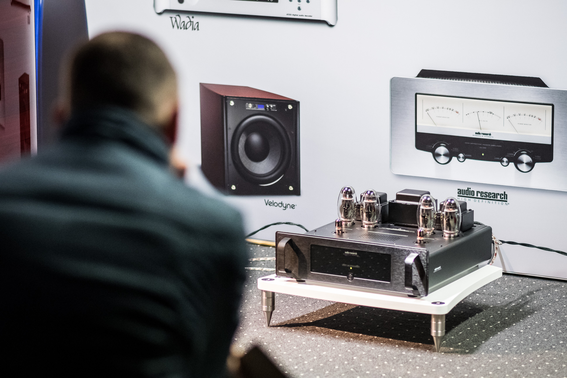 High End pur: Die Audio Research Röhrenendstufe VT 80.