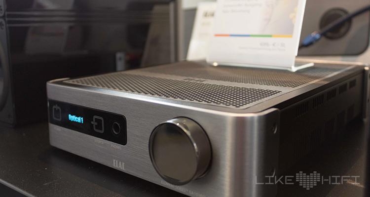 Eine tolle Vorführung lieferte uns der Element EA101EQ-G, der neue Stereo-Vollverstärker von Elac.