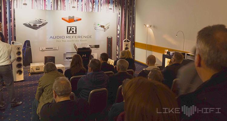 Wie üblich: Volles Haus bei Audio Reference und der Vorstellung der neuen Sonus Faber Lautsprecherserie.