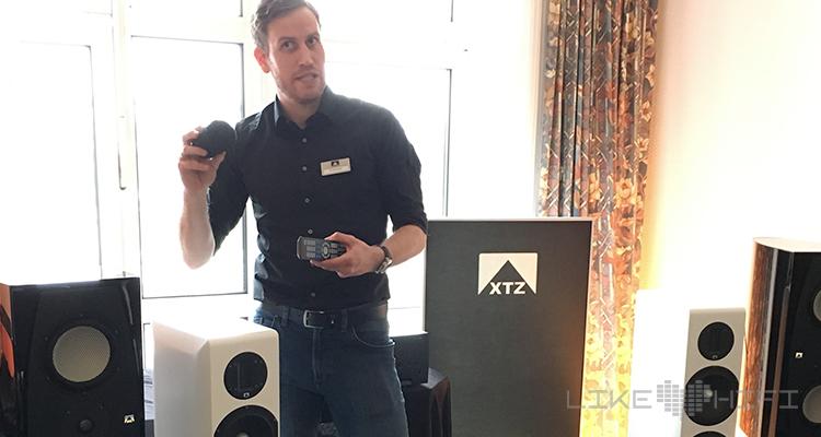 Berthold Daubner (Geschäftsführer von xtz Deutschland) präsentierte die Divine Alpha.