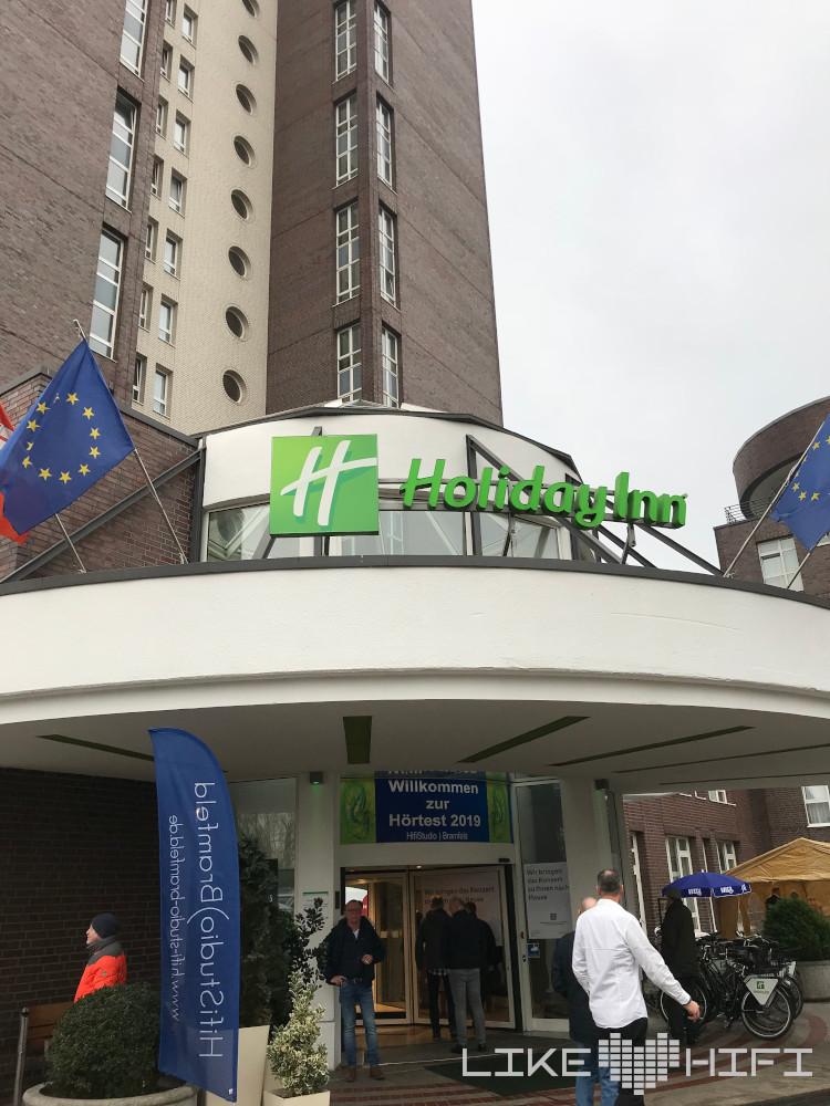 Norddeutsche HiFi Tage 2019 im Holiday Inn Hotel