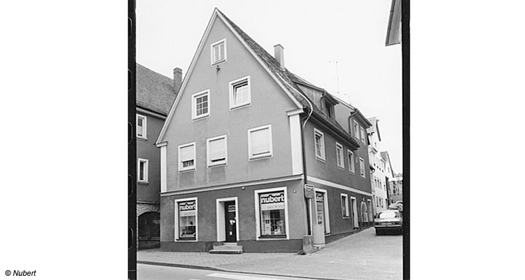 Die erste Verkaufsfiliale in Ellwangen