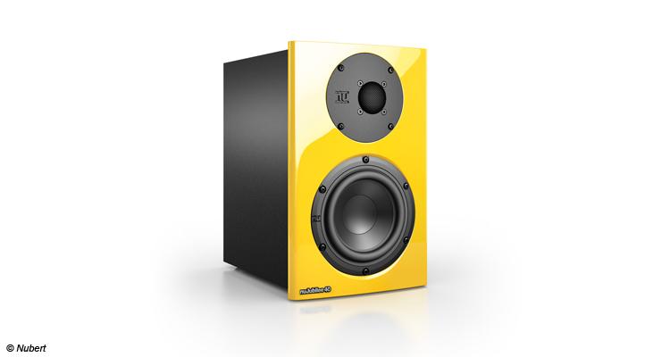 Zum 40. Jubiläum brachten die Schwaben  mit dem nuJubilee 40 einen erschwinglichen Lautsprecher in typischer Nubert-Qualität heraus