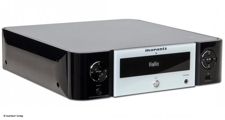 Marantz M-CR511 Melody Stream Test Review Netzwerkplayer Netzwerk Receiver Streaming