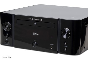 Marantz M-CR611 Melody Media Netzwerk-CD-Receiver Test Review