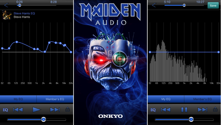 Maiden Audio Smartphone App