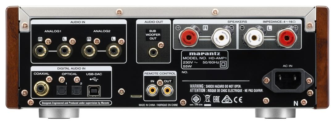 Marantz HD-AMP1 Rückansicht