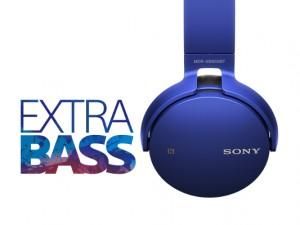 Sony Bluetooth-Kopfhörer MDR-XB650BT