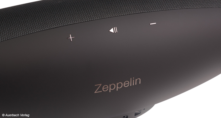 Bowers & Wilkins Zeppelin Wireless Lautstärkeregler