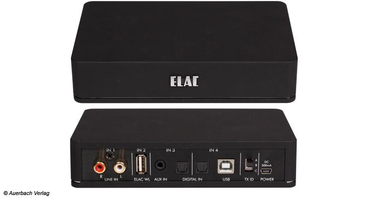 Hier spielt die Musik: Die kleine aber feine Base (Sender) ist im Stande ein ganzes Haus soundtechnisch zu verwalten