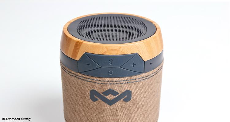 Durch die Verarbeitung der recycelten Stoffe und des nachhaltig angebauten Bambus' sind die Speaker etwas ganz Besonderes