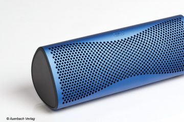 KEF Muo Bluetooth Lautsprecher Speaker Soundlink Test Review