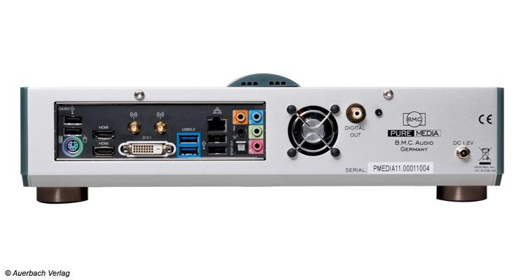 Alles was ein PC kann und noch ein bisschen mehr. Neben 4K-Video hat der Pure Media auch diverse digitale Audioschnittstellen. Am besten harmoniert er mit dem empfohlenen Pure-USB1-Kabel