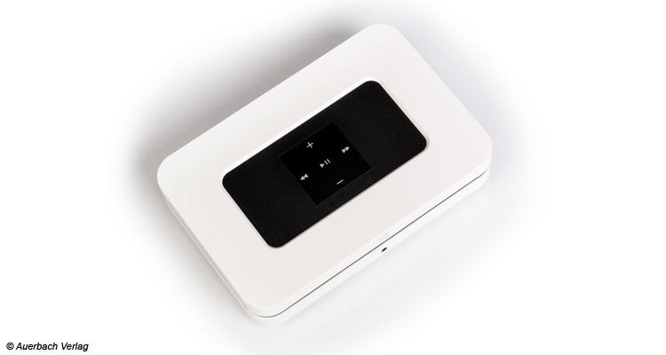 Alle Netzwerkstreamer können mit Hilfe des Steuerungskreuzes on top bedient werden