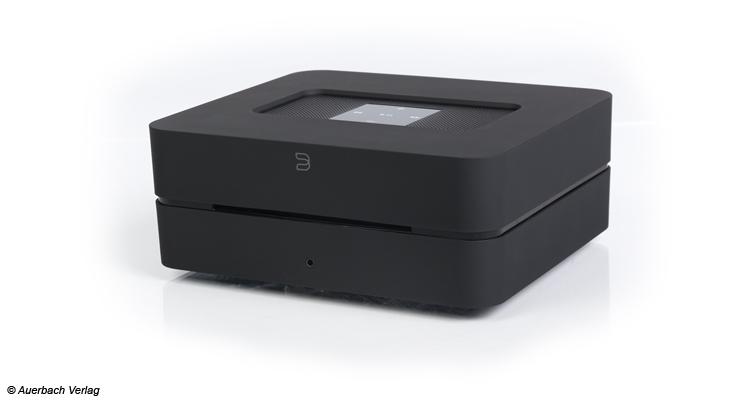 Der Vault 2 kommt mit einer zwei Terrabyte großen Festplatte zum Kunden. Ein CD-Ripper komplettiert das Angbot