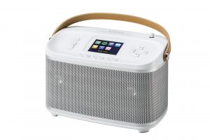 Roberts Radio R100 weiss