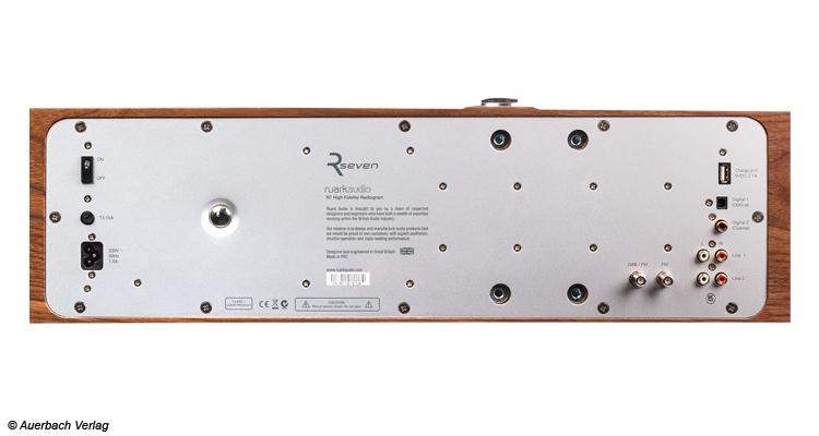 Ruark Audio R7 Musiksystem Radiogram Musiktruhe Test Review
