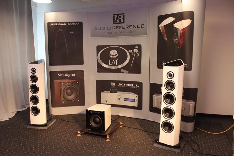 Audio Reference mit ihrer gesamten Produktpalette sind auch vertreten