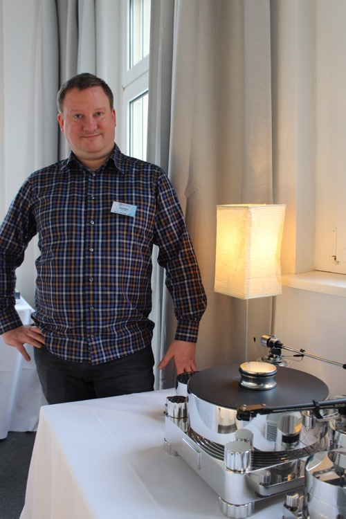 Dirk Räke von Transrotor