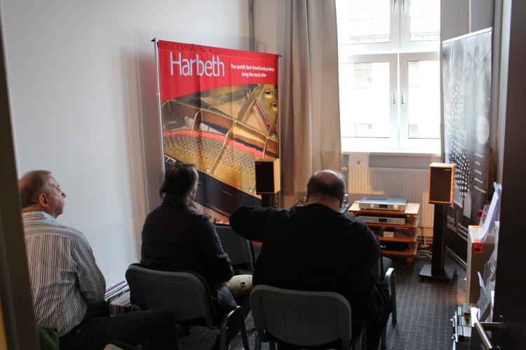 Bei Input Audio: Harbeth und Creek