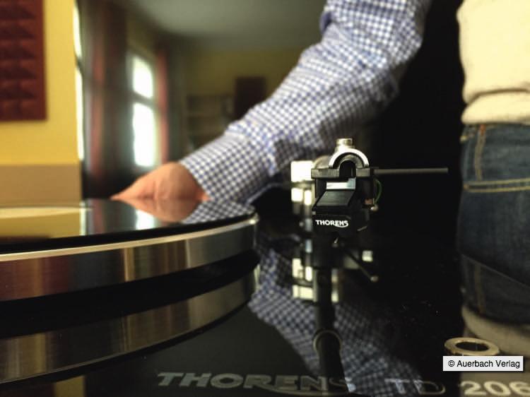 Thorens TD 206 Plattenspieler