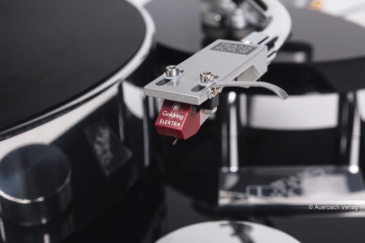 Das Tonabnehmersystem Goldring Electra ist in der Standardausführung im Lieferumfang inbegriffen