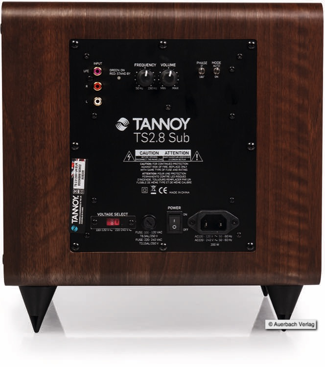 Tannoy Mercury 7.1 Surround Lautsprecher Set Test Review Speaker Subwoofer