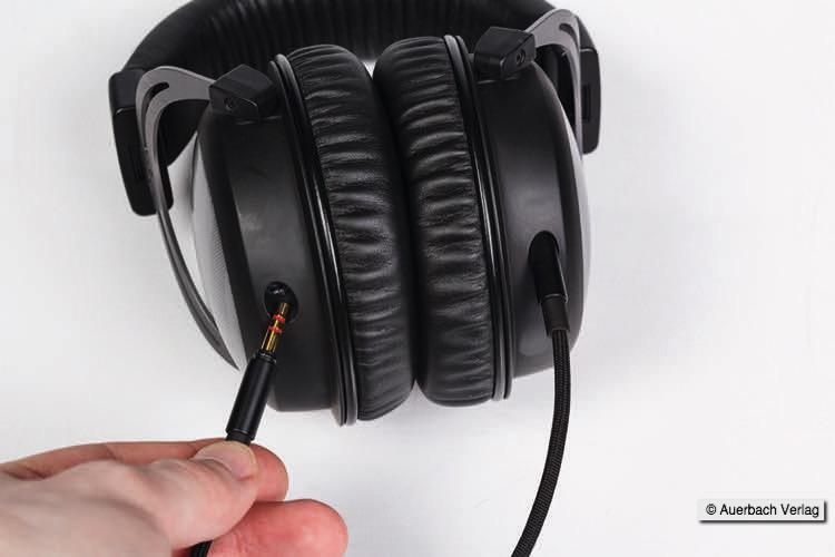 Ein Kabel aus OCC7N-Kupfer leitet das Tonsignal pro Seite separat zum T5p