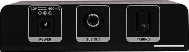 Das SubConnect-Modul stellt eine kabellose Verbindung zum Subwoofer her