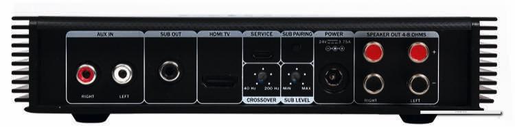 CoreStation Compact: Abspielgeräte können per Cinch oder Bluetooth mit dem Receiver gekoppelt werden