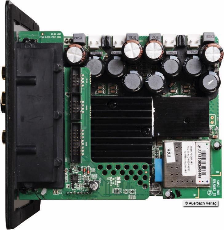 Die Steuereinheit des Focus 600 XD. DSP-Effekte, Frequenzweiche, Wandler und Verstärker auf kleinstem Raum versammelt