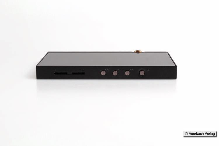 Mit je 200 GB pro Micro-SD-Slot ist der DP-X1 aufrüstbar. Denn will man High-Res-Dateien abspielen, braucht man genügend Spreicherplatz