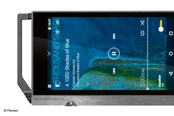 Pioneer XDP-100R High-Res-Player Android portabel Player Test Review HiRes MQA