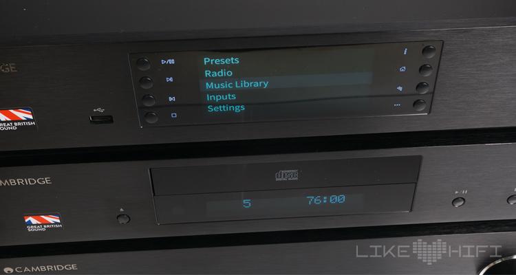 Cambridge Audio CX Serie CXA80 CXC CXN Test Review Netzwerkplayer Streaming Network Player Verstärker Amp CD Player CD-Player
