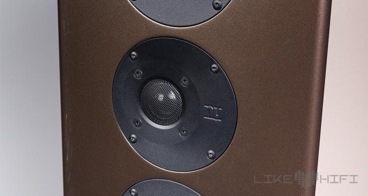 Nubert nuVero 140 Lautsprecher Test Review Standlautsprecher Treiber