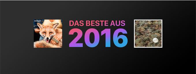 Das Beste aus 2016