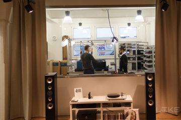 Inklang Lautsprecher Hamburg Besuch vor Ort Hinter Kulissen Lautsprecherbau