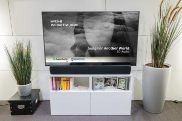 MPEG-H 3D-Soundbar