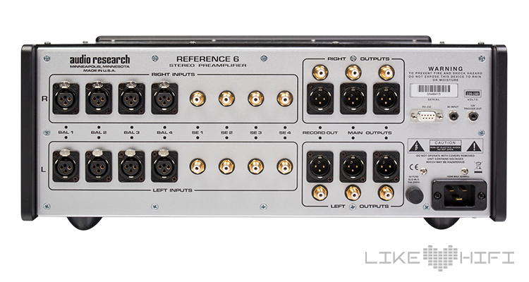 Test Audio Research Reference 6 Vorverstärker Preamp Amp Review