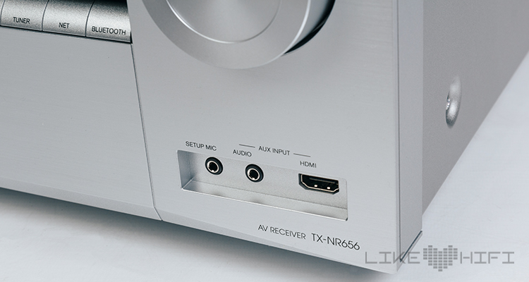 Onkyo TX-NR656: Frontanschlüsse