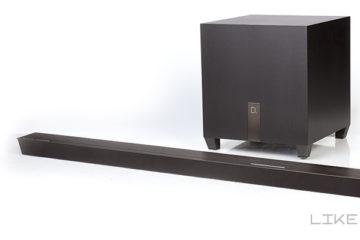 Test Definitive Technology W Studio Micro Soundbar Review