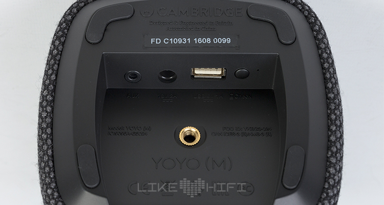 Cambridge Audio Yoyo S M Bluetooth Lautsprecher Speaker mobile wireless Test Review Boombox