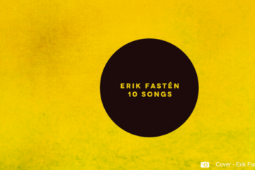 CD Cover 10 Songs Erik Fastén