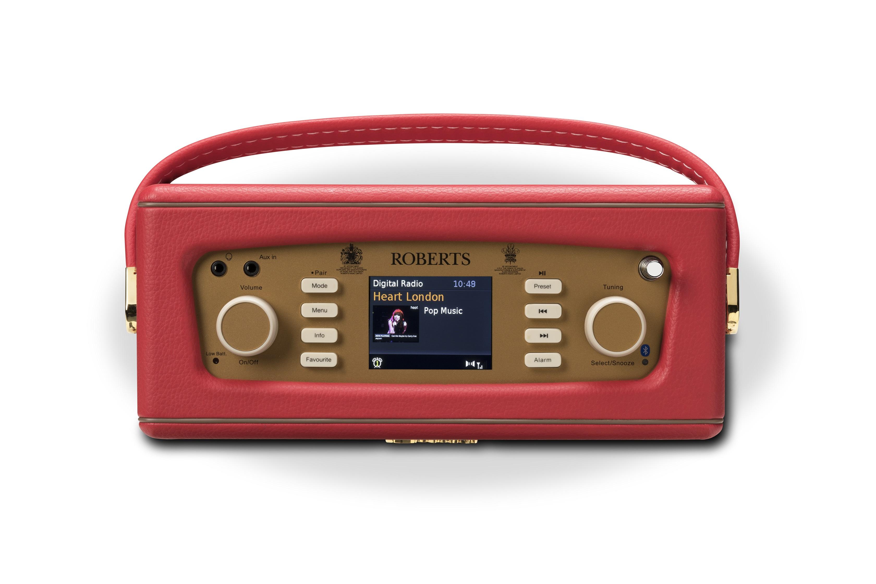 Digitales Radio Im Retro Look